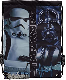Star Wars 4233851 Mochila Infantil, Color Negro