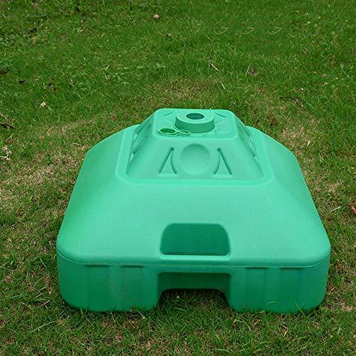 HXCD Großer Kunststoff-Eimersockel im Freien, großer Stallschirm 30L Wassereinspritzboden, Sonnenschirmboden, Werbe-Regenschirmboden, Öffnung 3,2 cm