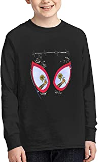 Post Malone Swae Lee Sunflower Spider Youth Long Sleeve 100% Cotton T-Shirts
