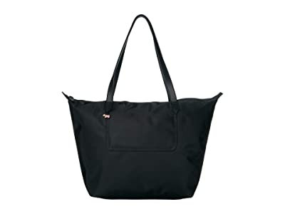 Radley London Pocket Essentials Large Zip Top Tote (Black) Handbags