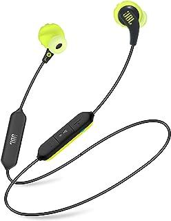 JBL Endurance Run Sweatproof Wired Sport In-Ear Headphone, Blacklime