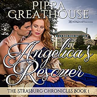 Angelica's Rescuer audiobook cover art