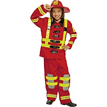 My Other Me Me-200910 - Disfraz de bombero para niños, Talla 5-6 ...