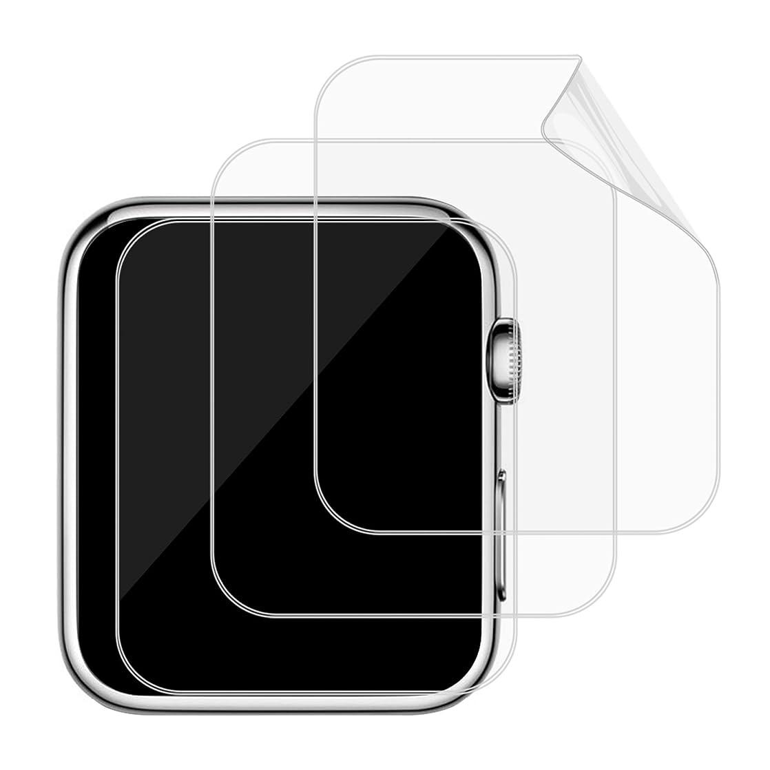 おなじみの繁雑カラスJEDirect Apple Watch 用液晶保護フイルム 高透過率 HD画面 42mm Series 1 2 3対応 3枚入り