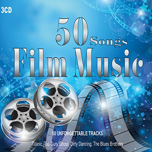 3CD 50 Songs Film Music, Orchestral Works, Jazz Guitar, piano Pieces, Titanic, La Vita è Bella, Moulin Rouge