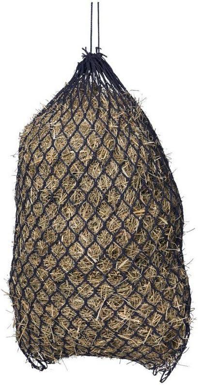 Hay Feed Net No Knot 1.5 X 1.5 Slow Feed Black