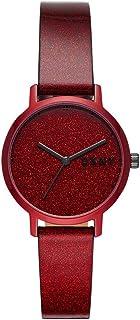 The Modernist Reloj de Mujer   NY2860 Color Rojo y Purpurina