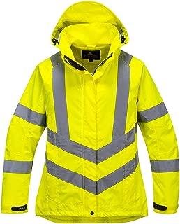 Portwest Ladies Hivis Breathable Jacket Viz Insulated Safety Visability Work Bomber ANSI 3