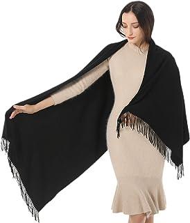 Womens Soft Cashmere Acrylic Shawl Scarf Large Pashmina Wrap Stole Gift Idea