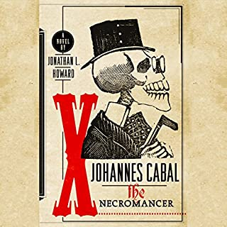 Johannes Cabal The Necromancer audiobook cover art