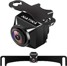 Backup Rear | Front View Camera: No Distorted Affect Starlight Night Vision HD Waterproof CVBS | AHD Hitch Backup Reverse ...