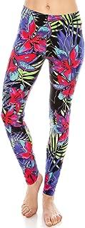 Women Printed Soft Leggings - Super Soft Strech