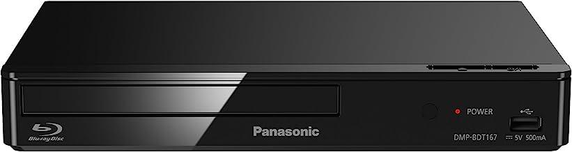 Panasonic DMP-BDT167 Lecteur DVD Blu-Ray Noir