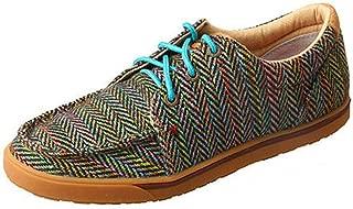 Women's Multicolored Hooey Loper Shoes Moc Toe