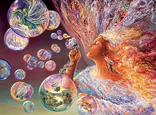 Buffalo Games Josephine Wall: Bubble Flower - Jigsaw Puzzle (1000 Piece)