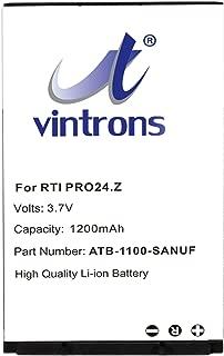 VINTRONS, RTI 41-500012-13, ATB-1100-SANUF Battery for RTI Pro24.i, Pro24.r, Pro24.r v2, Pro24.z,