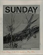 Historic Images - 1993 Vintage Press Photo February cover of Sunday The Plain Dealer Magazine - cvb08436