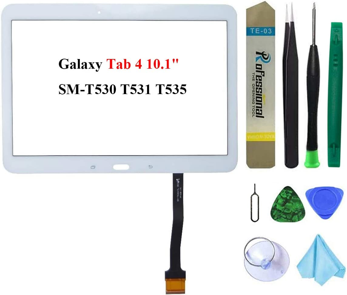 Dedia White Touch Screen Replacement for Galaxy Inventory cleanup selling sale 10 Excellence 4 Tab Samsung