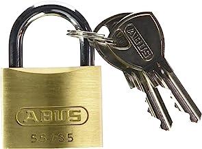 ABUS 02856 55/35 hangslot, messing, 40 mm