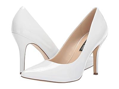 Nine West Flax Pump (White) High Heels