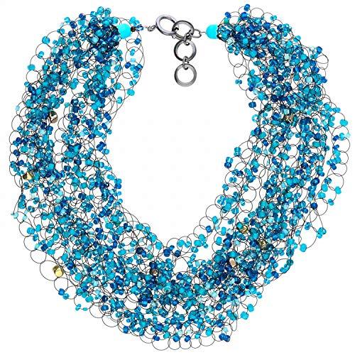 langani, collana ritmon, collana da donna, realizzata a mano since 1952, gioiello di tendenza