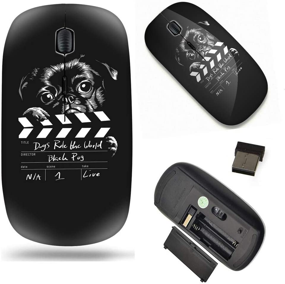 Unique NEW Pattern Optical Mice Mobile Wireless Mouse Portable 2.4G Max 48% OFF