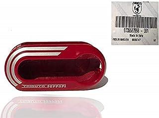 Housse de clé Ferrari rouge pour Fiat (authentique OE) 735527598