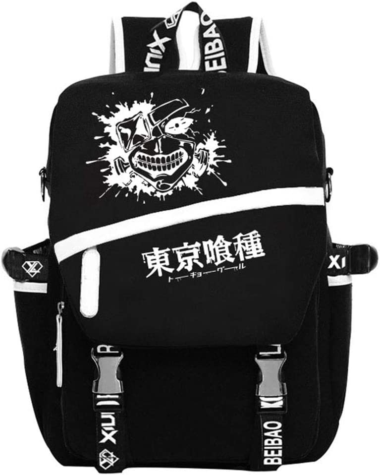 Gumstyle Tokyo Ghoul Anime Cosplay Finally popular brand List price Ruck Luminous Backpack Laptop