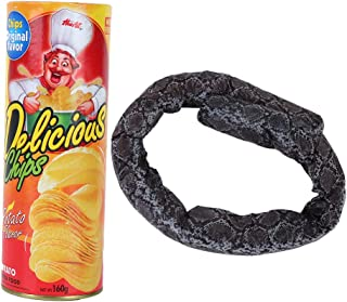 Tricky Toy, Potato Chip Toy Shocking Harmless Novel and Unique for April Fool's Day for Parties for Halloween