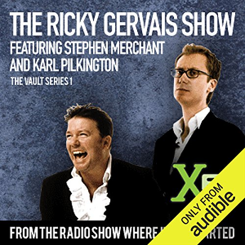 The XFM Vault     The Best of The Ricky Gervais Show with Stephen Merchant and Karl Pilkington, Volume 1              Written by:                                                                                                                                 Ricky Gervais,                                                                                        Stephen Merchant,                                                                                        Karl Pilkingson                               Narrated by:                                                                                                                                 Ricky Gervais,                                                                                        Stephen Merchant,                                                                                        Karl Pilkingson                      Length: 1 hr and 27 mins     2 ratings     Overall 5.0