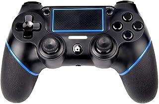 Manette PS4 contrôleur sans fil Sades avec double vibration et jack 3,5 mm pour Playstation 4