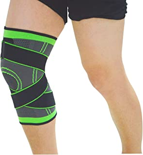 Knee Brace Support Relieve Arthritis Pain Compression Knee Sleeves Knee Pads for Outdoor Sports Gym Walking Tennis Running Jogging Basketball