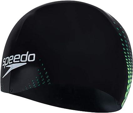black logo mens womens size small adult new speedo cap fastskin 3 hat white