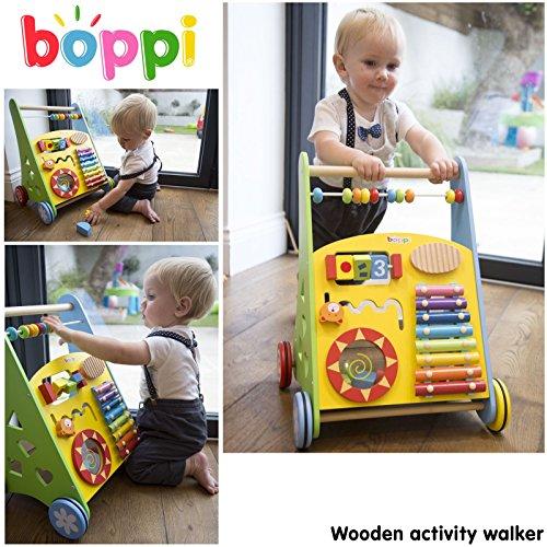 Lauflernwagen für Babys aus Holz von boppi® – Musik - 2