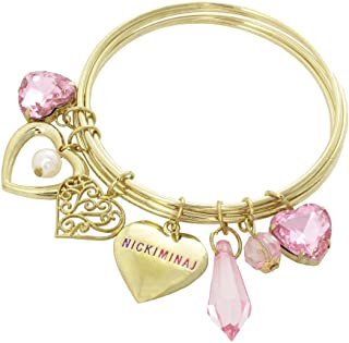 Nicki Minaj Heart Charm Bracelet