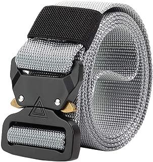 Training Belt Simple Elasticity Comfortable Tactical Military Canvas Belt Military Men's Outdoor Training Belt