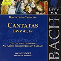 Bach: Cantatas, BWV 41, 42 (Edition Bachakademie Vol 14) /Rilling by Johann Sebastian Bach (2000-05-15)