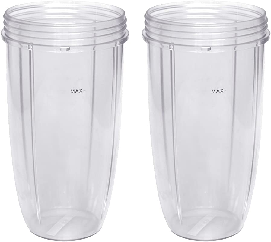 Replacement Cup For Nutribullet Replacement Parts 32oz For Nutri Bullet 600W And 900W Pack Of 2
