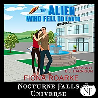 The Alien Who Fell to Earth: A Nocturne Falls Universe Story audiobook cover art
