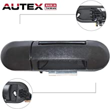 AUTEX Exterior Rear Left Driver Side Door Handle Compatible with Ford Explorer,Mercury Mountaineer 02-10 Replacement for Lincoln Aviator 2003 2004 Replacement for Ford Explorer Sport Trac 07-10 80654