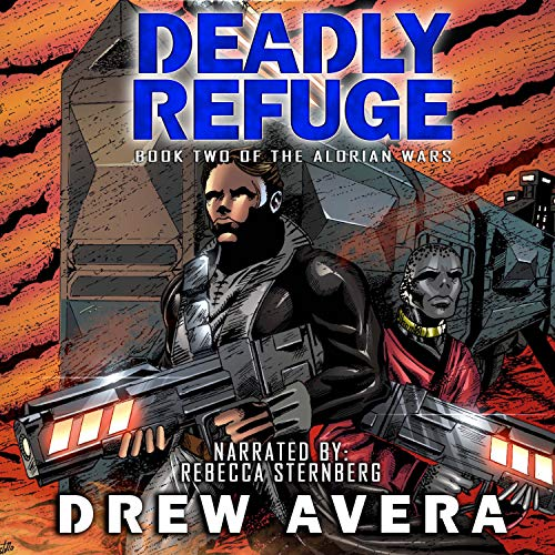 Deadly Refuge audiobook cover art