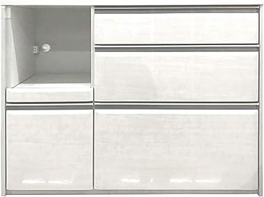 120 カウンター ジョア (ホワイト) k0118 開梱設置 キッチンカウンター 収納家具 キッチン収納 キッチンボード レンジ台 レンジボード キッチンキャビネット キッチンラック 台所収納