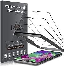 LK [3 Pack Pellicola Protettiva per Samsung Galaxy A40, Protezione Schermo Vetro Temperato Screen Protector [Garanzia di Sostituzione a Vita]