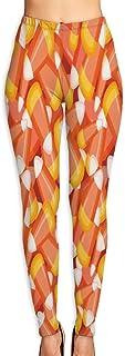 Crystal Clear Candy Corn Yoga Pants Vivid Printed Women's Non-Fading Sportswear High Elastic Leggings