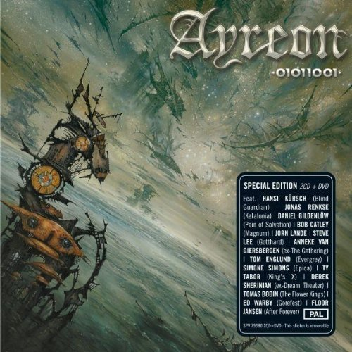01011001 Bonus DVD by Ayreon, Arjen Luccasson, Bob Catley, Hansi Kursch, Michael Romeo, Ty Tabor, Dani (2008) Audio CD
