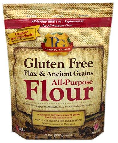 Premium Gold All-Purpose Flour, Flax and Whole Grain, 2 Pound