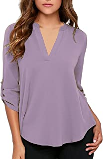 Best lavender blouse womens Reviews