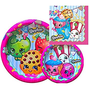 Shopkins Birthday Party Supply Set for 16: Di | Shopkin.Toys - Image 1