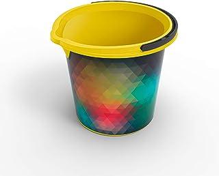 Rotho 1006810409 Seau Vario - Prism 10l, Plastique, Multicoloré, 45 x 35 x 25 cm