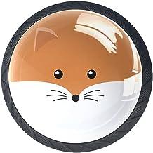 Lade handgrepen Pull voor Home Keuken Dressoir Garderobe, Flat Fox gezicht